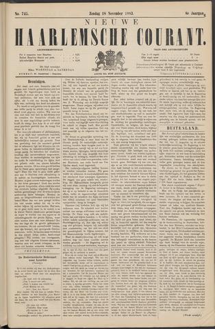 Nieuwe Haarlemsche Courant 1883-11-18