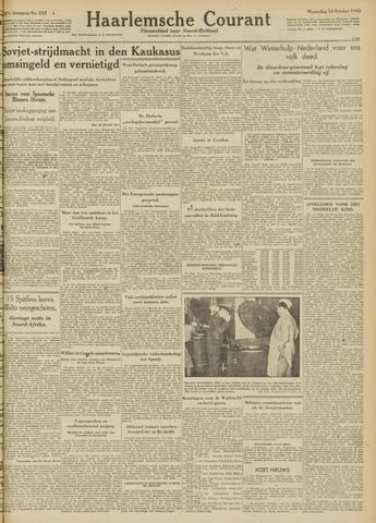 Haarlemsche Courant 1942-10-14