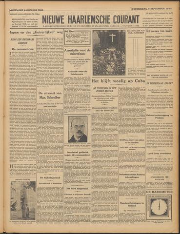 Nieuwe Haarlemsche Courant 1933-09-07