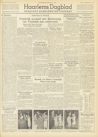 Haarlem's Dagblad 1954-04-29