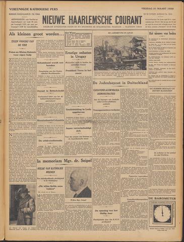 Nieuwe Haarlemsche Courant 1933-03-31