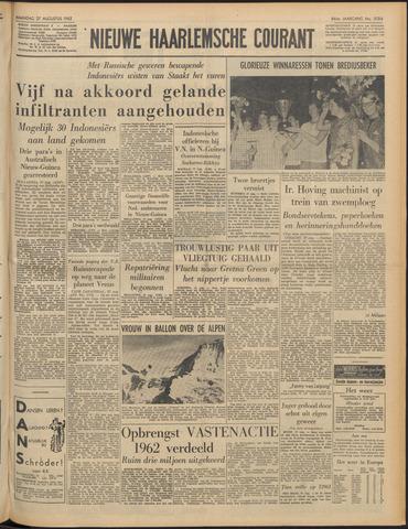Nieuwe Haarlemsche Courant 1962-08-27