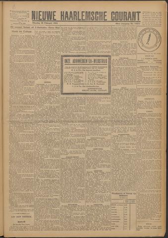 Nieuwe Haarlemsche Courant 1924-02-26