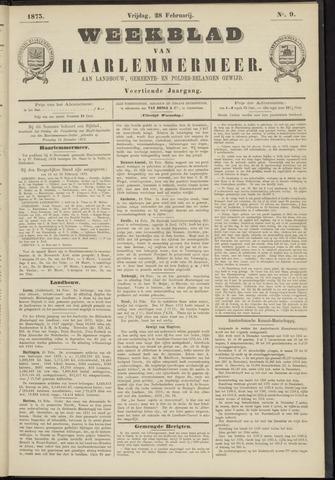 Weekblad van Haarlemmermeer 1873-02-28