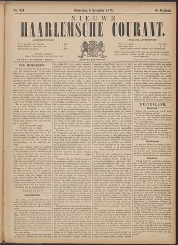 Nieuwe Haarlemsche Courant 1879-11-06