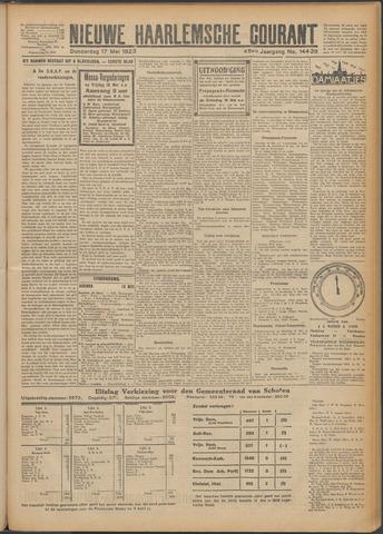 Nieuwe Haarlemsche Courant 1923-05-17
