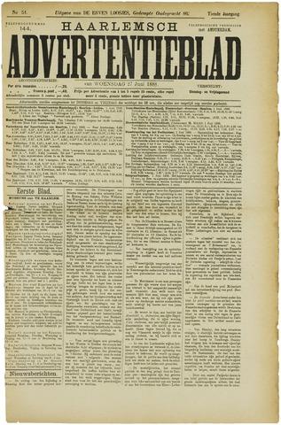 Haarlemsch Advertentieblad 1888-06-27