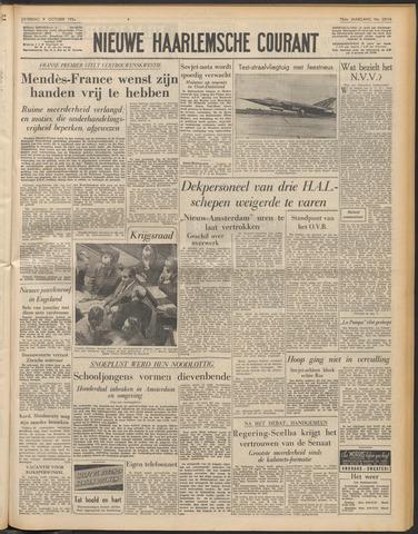 Nieuwe Haarlemsche Courant 1954-10-09