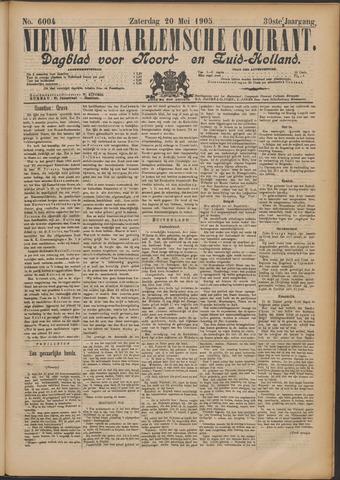 Nieuwe Haarlemsche Courant 1905-05-20