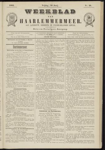 Weekblad van Haarlemmermeer 1882-06-30