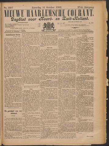 Nieuwe Haarlemsche Courant 1902-10-11