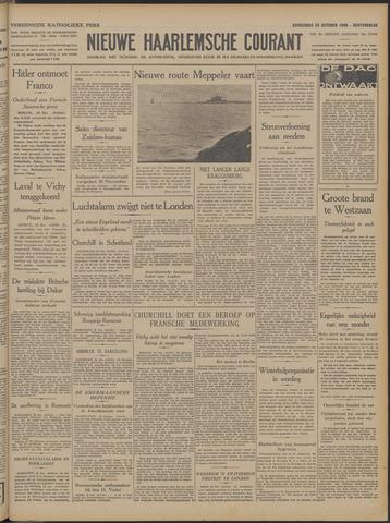 Nieuwe Haarlemsche Courant 1940-10-24