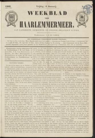 Weekblad van Haarlemmermeer 1860-01-06