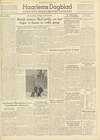 Haarlem's Dagblad 1954-03-13