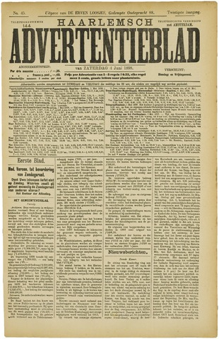 Haarlemsch Advertentieblad 1898-06-04