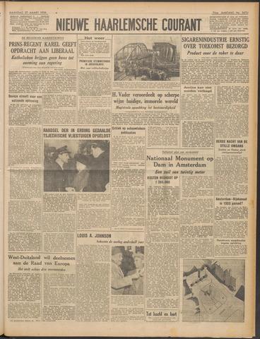 Nieuwe Haarlemsche Courant 1950-03-27