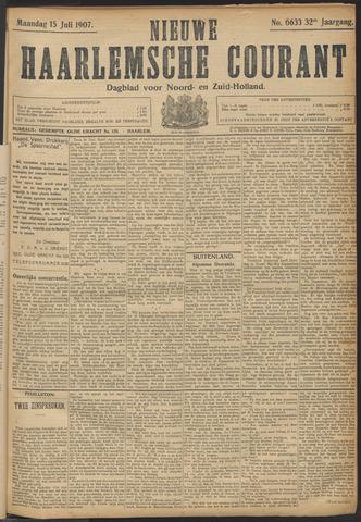 Nieuwe Haarlemsche Courant 1907-07-15