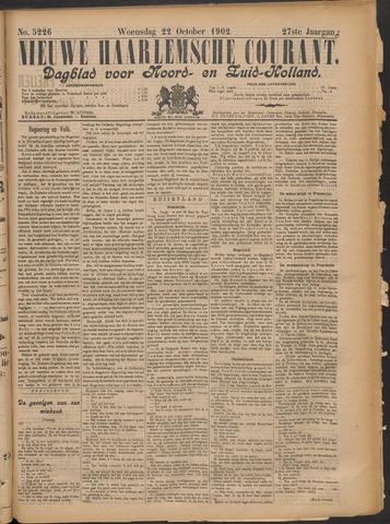 Nieuwe Haarlemsche Courant 1902-10-22
