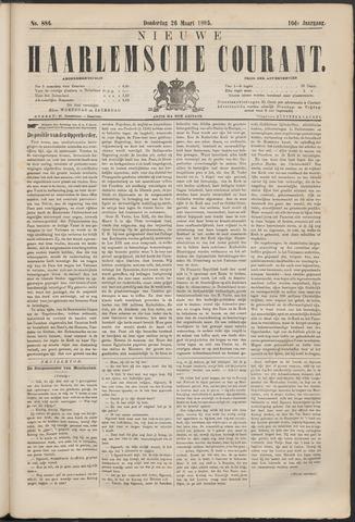 Nieuwe Haarlemsche Courant 1885-03-26