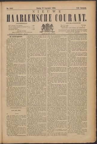 Nieuwe Haarlemsche Courant 1886-09-19