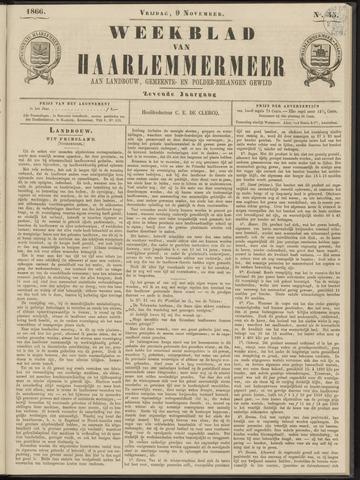 Weekblad van Haarlemmermeer 1866-11-09