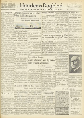 Haarlem's Dagblad 1951-04-18