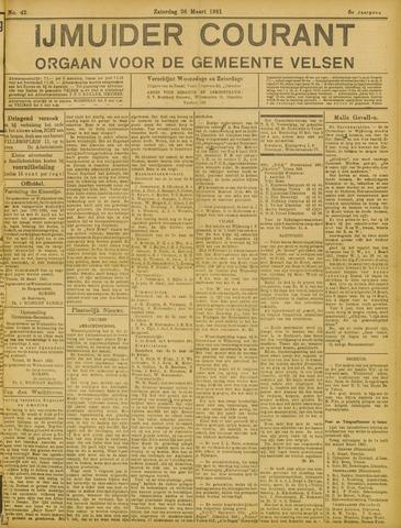 IJmuider Courant 1921-03-26