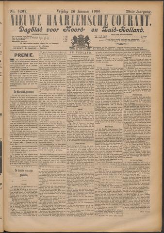 Nieuwe Haarlemsche Courant 1906-01-26