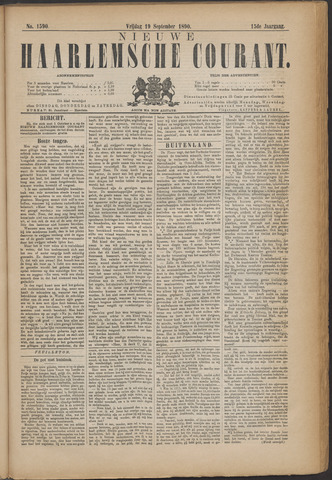 Nieuwe Haarlemsche Courant 1890-09-19