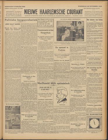 Nieuwe Haarlemsche Courant 1933-11-22
