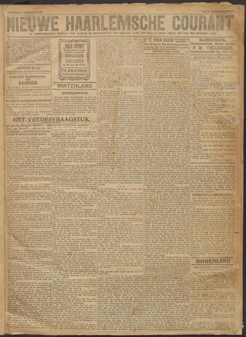 Nieuwe Haarlemsche Courant 1918