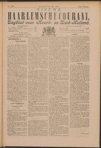 Nieuwe Haarlemsche Courant 1899-09-23