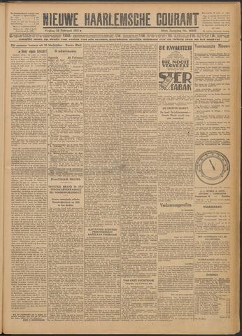 Nieuwe Haarlemsche Courant 1927-02-25