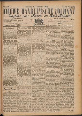 Nieuwe Haarlemsche Courant 1903-01-27