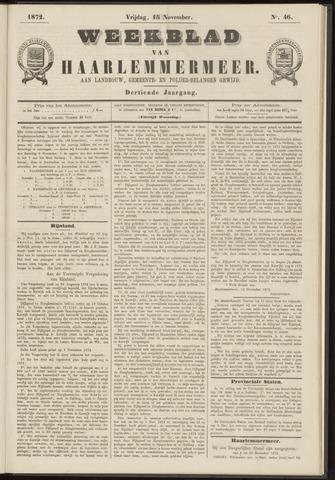 Weekblad van Haarlemmermeer 1872-11-15