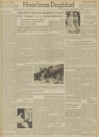 Haarlem's Dagblad 1947-02-21