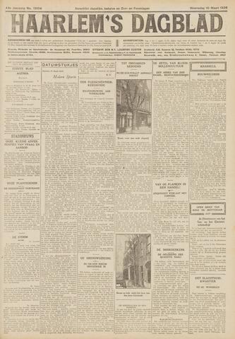 Haarlem's Dagblad 1926-03-10