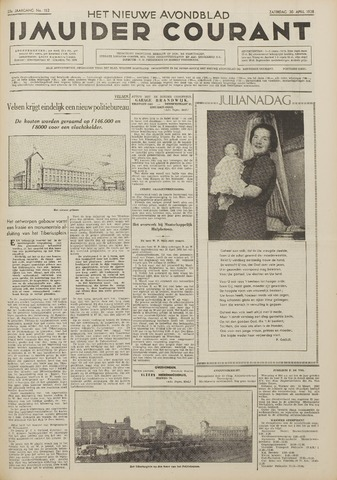 IJmuider Courant 1938-04-30