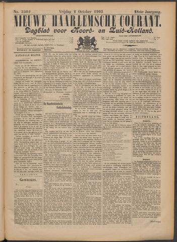 Nieuwe Haarlemsche Courant 1903-10-02