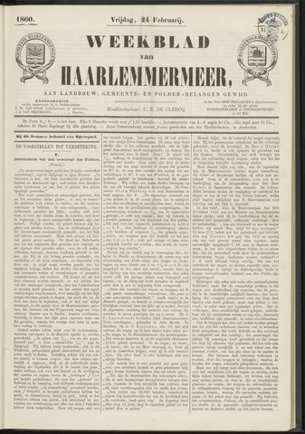 Weekblad van Haarlemmermeer 1860-02-24