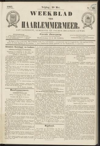 Weekblad van Haarlemmermeer 1863-05-29