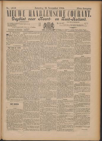 Nieuwe Haarlemsche Courant 1904-11-26