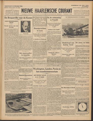 Nieuwe Haarlemsche Courant 1934-06-20