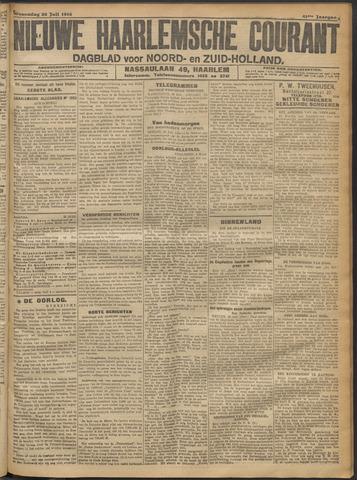 Nieuwe Haarlemsche Courant 1916-07-26
