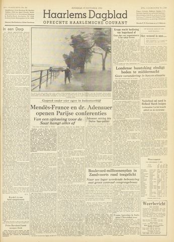 Haarlem's Dagblad 1954-10-19