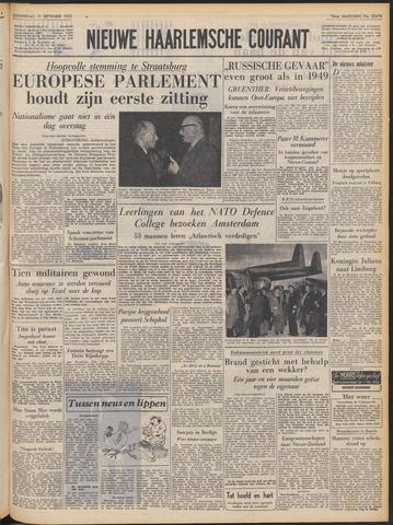 Nieuwe Haarlemsche Courant 1952-09-11