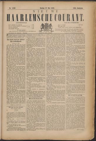 Nieuwe Haarlemsche Courant 1888-05-27