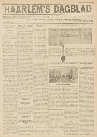 Haarlem's Dagblad 1926-03-25