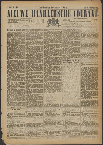Nieuwe Haarlemsche Courant 1894-03-29