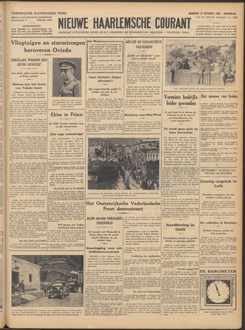 Nieuwe Haarlemsche Courant 1936-10-19